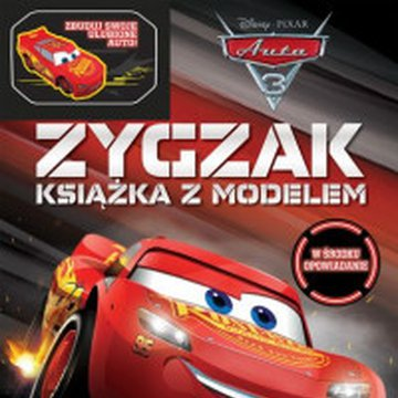 Egmont - Auta 3. Zygzak. Książka z modelem