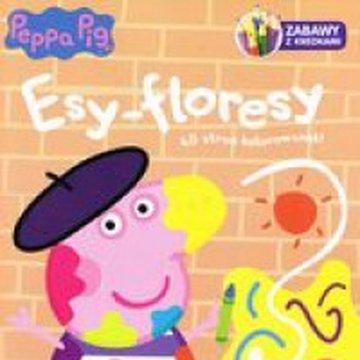 Media Service Zawada - Peppa Pig. Zabawy z kredkami. Esy-floresy