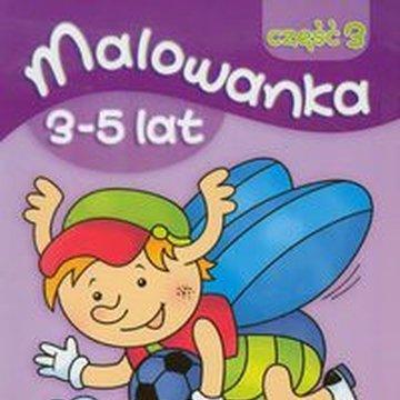 Literka - Malowanka 3-5 lat, część 3