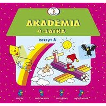 Skrzat - Akademia 4-latka. Zeszyt A