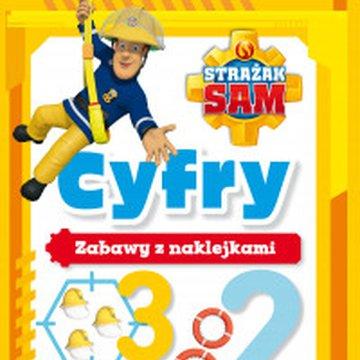 Olesiejuk Sp. z o.o. - Strażak Sam Cyfry. Zabawy z naklejkami