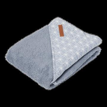 Little Dutch Bawełniany ręcznik Lily Leaves Blue TE50620840