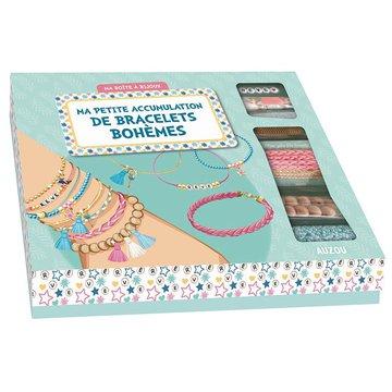 Auzou Zestaw do robienia bransoletek DIY Boho pastel 7+ 74028
