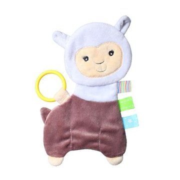 BABYONO - 449 Przytulanka dla niemowląt FLAT ALPACA LILIAN FLAT FELLOWS