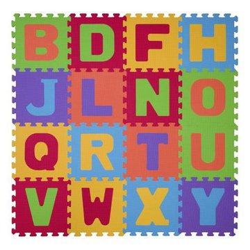 BABYONO - 280 Puzzle piankowe 16szt litery