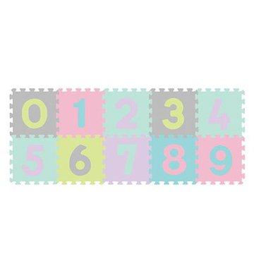 BABYONO - 274/02 Puzzle piankowe 10szt cyfry