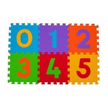 BABYONO - 275 Puzzle piankowe 6szt cyfry