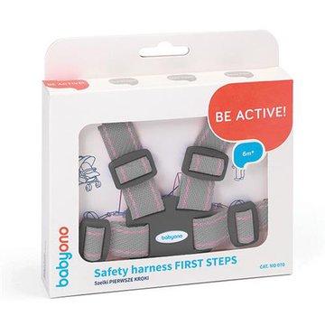 BABYONO - 070 Szelki dla dzieci spacerowe i do wózka FIRST STEPS