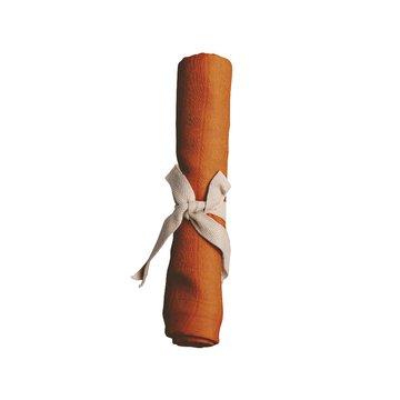 Filibabba Pieluszka muślinowa 65 x 65 cm Dark Orange FILIBABBA
