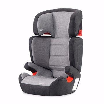 Kinderkraft fotelik samochodowy Junior Fix z systemem ISOFIX black/gray