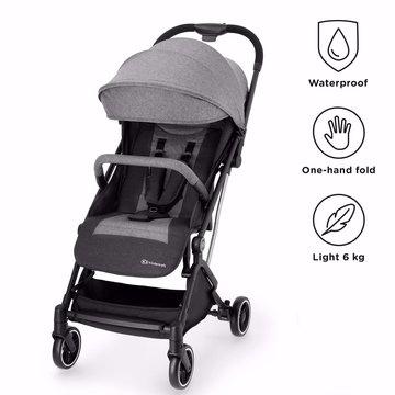 Kinderkraft Wózek Spacerowy INDY Grey