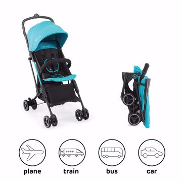 Kinderkraft Wózek Spacerowy MINI DOT Turquoise