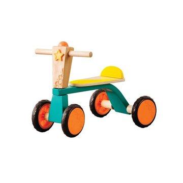B.Toys  - B.Toys, Drewniany rowerek biegowy – Smooth Rider, Wersja Zmontowana, 18 m-cy+