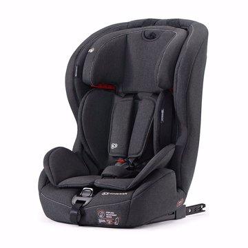 Kinderkraft fotelik samochodowy SAFETY-FIX z systemem ISOFIX (I/II/III) black