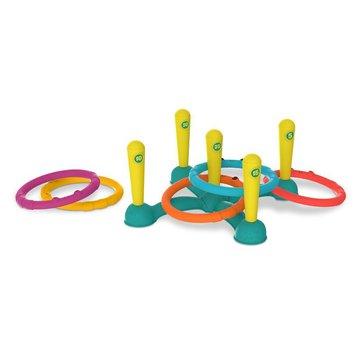 B.Toys  - B. Toys, Sling-a-Ring Toss – zestaw do gry w Rzucanie Obręczami do Celu, 3+