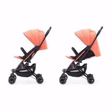 Kinderkraft wózek spacerowy MINI DOT coral