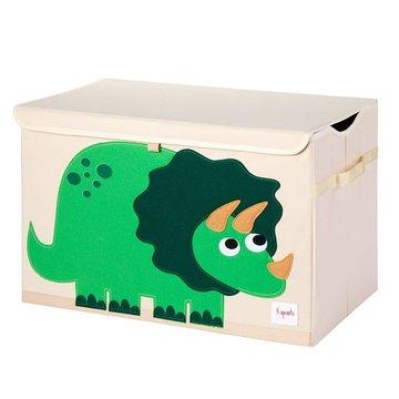 3 Sprouts Pudełko Zamykane Dinozaur Green