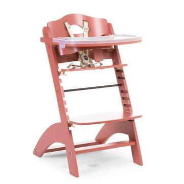 CHILDHOME - Krzesełko do karmienia Lambda 3 Red Brick