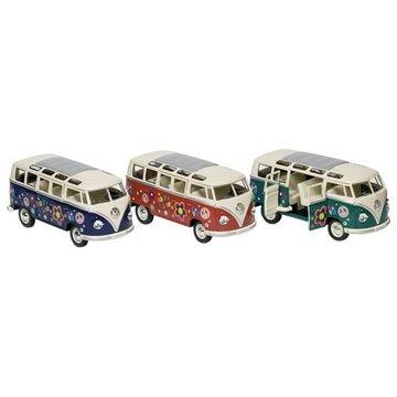 Goki® - Van Volkswagen z kwiatkami hipisowskimi