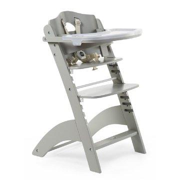 CHILDHOME - Krzesełko do karmienia Lambda 3 Stone Grey