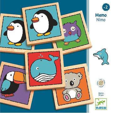 Djeco - Drewniane memo NIMO DJ01637
