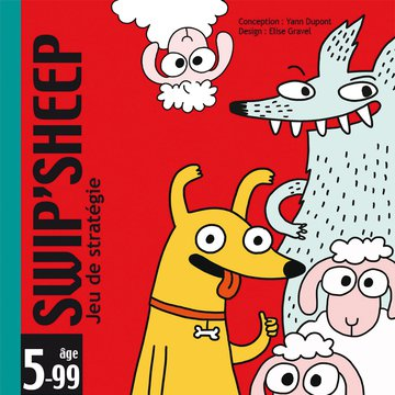 Djeco - Gra karciana SWIP'SHEEP DJ05145