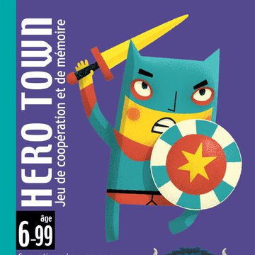 Djeco - Gra karciana HERO TOWN DJ05143