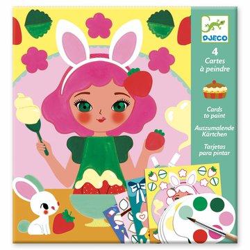Djeco - Kolorowanka z farbami - CZAS NA PRZEKSK DJ09659