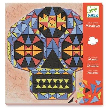 Djeco - Mozaiki piankowe CZASZKI John Doe DJ08889