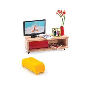 Djeco - Zestaw mebli do salonu z TV  DJ07827