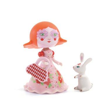 Djeco - Figurka ksiniczki Elodia z krliczkiem DJ06780