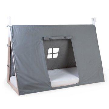 Childhome Poszycie do łóżka Tipi 90 x 200 cm Grey CHILDHOME