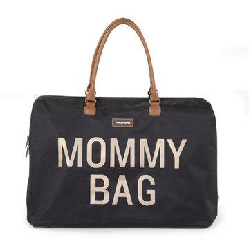 CHILDHOME - Torba Mommy Bag Czarno-Złota