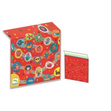 Djeco - Papierowa koperta prezentowa 28x26 cm DJ05922