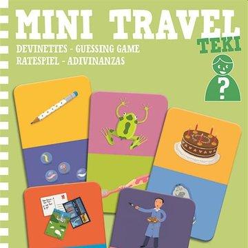 Djeco - Mini gra podrna zgadywanki TEKI DJ05373