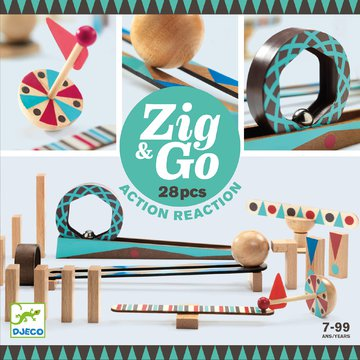Djeco - Zestaw Zig & Go-28 element. DJ05640