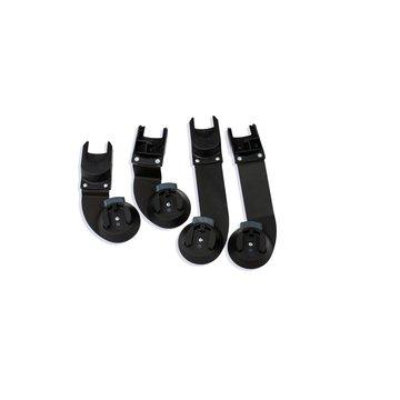 Bumbleride Zestaw adapterów do fotelików Maxi Cosi, Cybex, Clek & Nuna - wózek Indie Twin BUMBLERIDE
