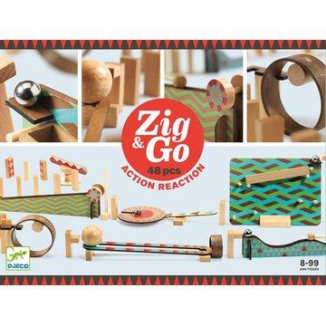 Djeco - Zestaw Zig & Go- 48 elemen. DJ05644