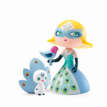 Djeco - Figurka ksiniczki COLUMBA z ptaszkami  DJ06784