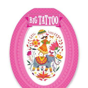 Djeco - Tatua RÓŻA INDII  DJ09602