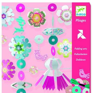 Djeco - Skadanki papierowe GIRLANDY DJ08768