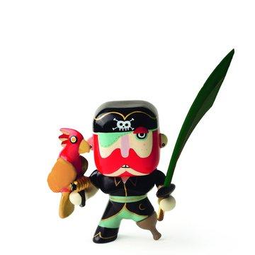 Djeco - Figurka pirata Sam z papug  DJ06816