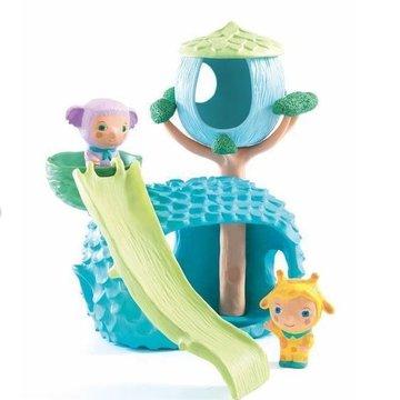Djeco - Zestaw figurek Cabanachoux z domkiem  DJ09130