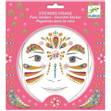 Djeco - Naklejki na twarz ZOTA KSIĘŻNICZKA DJ09211