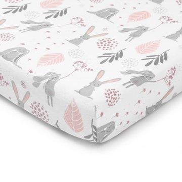 ColorStories - Prześcieradłodo łóżeczka 120x60cm Bunny