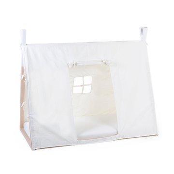 Childhome Poszycie do łóżka Tipi 70 x 140 cm White CHILDHOME