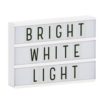 A Little Lovely Company - Lampa Lightbox LED A4 White