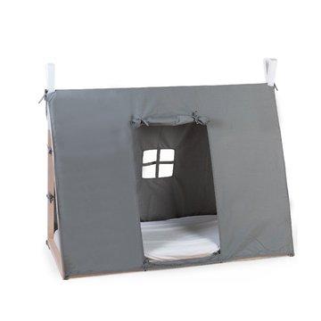 Childhome Poszycie do łóżka Tipi 70 x 140 cm Grey CHILDHOME