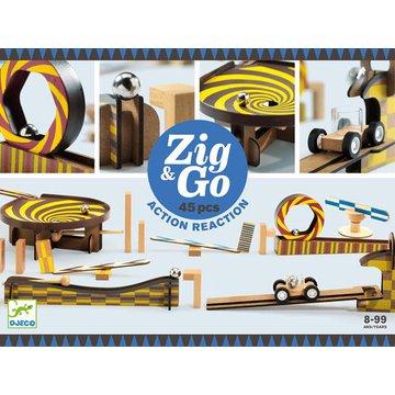 Djeco - Zestaw Zig & Go- 45 elemen.DJ05643