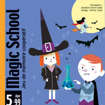 Djeco - Gra karciana Magic school DJ05144